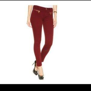 Michael Kors Zipper-Pocket Super Skinny Jeans